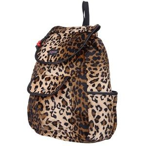 Jansport Cheetah Print Drawstring Backpack